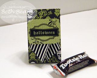 Halloween Tootsie Roll Treat Bag