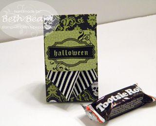 Halloween Tootsie Roll Treat Bag